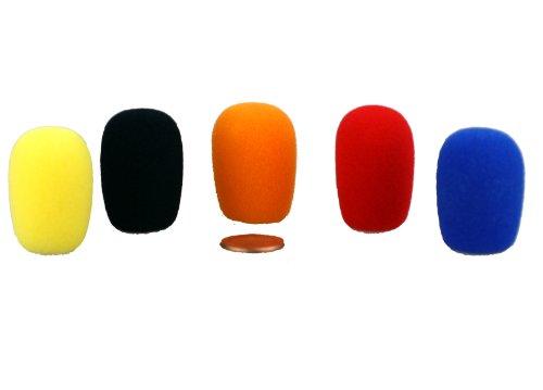 Hisonic Lpws5P Headset/Lavalier Microphone Windscreen, 5-Pack