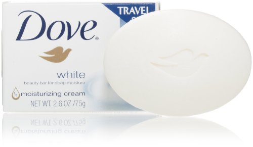 Dove White Beauty Bar, 75 Gram (Pack of 36)