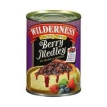 Comstock and Wilderness Berry Medley Pie Filling, 22 Ounce -- 12 per case.