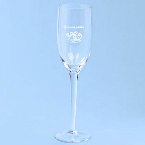Groomsman Champagne Flute