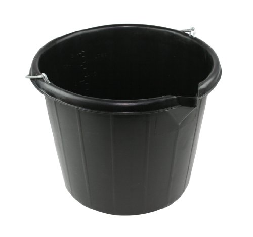 Kent G612 14.5L Builders Bucket - Black