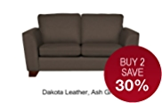Urbino Medium Sofa - Leather