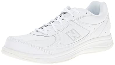 New Balance Men's MW577 Walking Shoes,White,7 B US