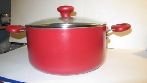 3 Ply 13 Piece Cookware Set Color: Red