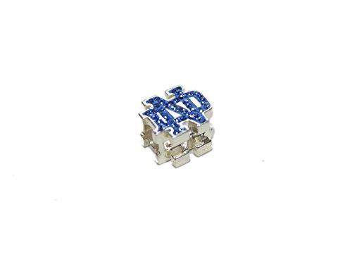 Notre Dame Bead Blue Enamel & Crystals