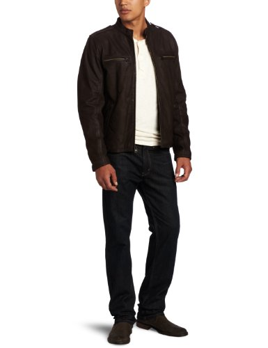 Levi's Men's Leather Racer Jacket