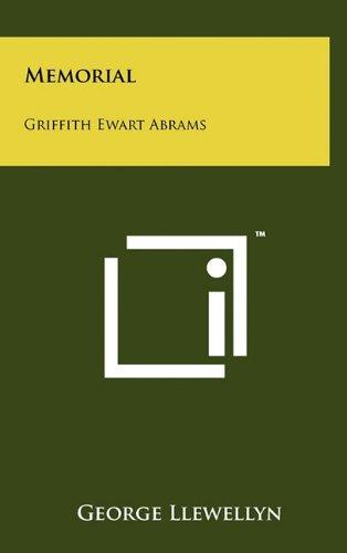 Memorial: Griffith Ewart Abrams