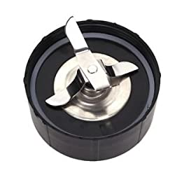 1x Black Replacement Ice Shaver Blade Seal Ring For Magic Bullet Food Processor