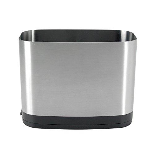 OXO Good Grips 1386300SS Utensil Holder (Silver)