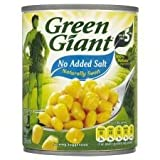 Green Giant No Added Salt Sweetcorn 198G