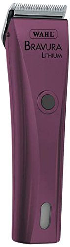 Wahl 41870-0423 Purple Bravura Lithium Professional Cord/Cordless Pet Clipper Kit by Wahl Professional Animal