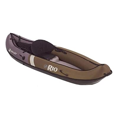 Sevylor Coleman Inflatable Rio Canoe Hunt/Fish from D&H Distributing Co.