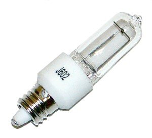 Hikari 00067 - 35 Watt JD Type Halogen Light Bulb - E11 Base (Mini Candelabra) - 130 Volt - Clear