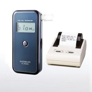 AL9000(Printer Connectible) Fuel Cell Breathaylzer