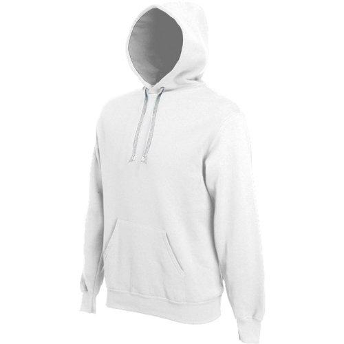 Kariban Mens Heavy Contrast Hooded Sweatshirt