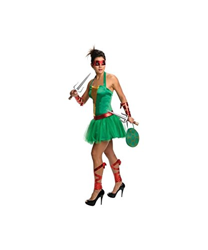 Ninja Turtles Raphael Adult Womens Costume Dress