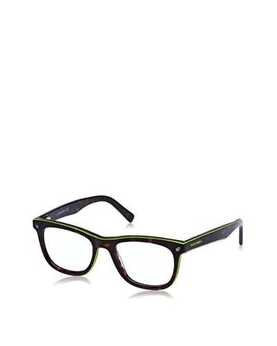D Squared Gestell DQ516651 (51 mm) havanna/grün