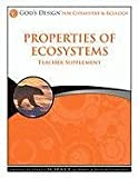 God's Design Teacher - Properties of Ecosystems