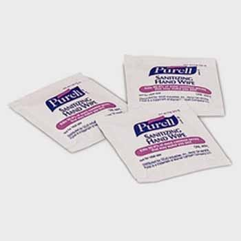 Purell Hand Sanitizing Wipes Individual Packets front-1061895