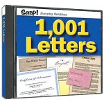 SNAP! 1,001 Letters (Jewel Case)
