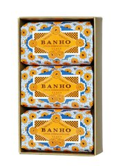 Claus Porto BANHO Citron Verbena Bath Soap (BOX OF 3)
