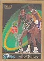 Sam Perkins Dallas Mavericks 1990 Skybox Autographed Hand Signed Trading Card - Nice... by Hall+of+Fame+Memorabilia