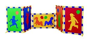 Playful Preschoolers Play Panel Set