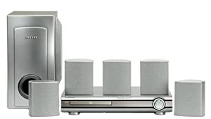 Samsung HT-DB120 Progressive-Scan DVD Home Theater System (Silver) (Discontinued by Manufacturer)