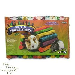 Super Pet Tropical Fiddle Sticks for Small Pets (Medium, 12 Inch L x 7 Inch W)