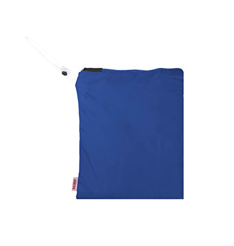 NUBY Washable Wet Bag, Blue - 1