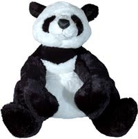 Big Stuffed Panda Bear Mama Gansu