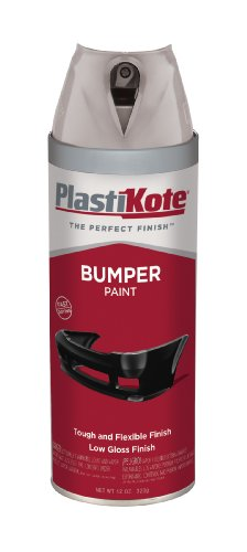 Plasti-Kote 614 Gray Bumper Paint, 12 oz.