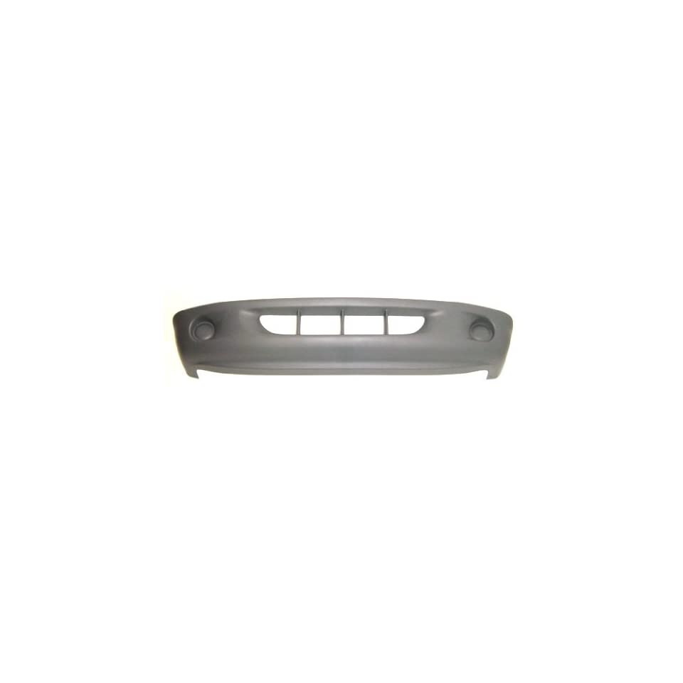 OE Replacement Dodge Dakota Front Bumper Cover (Partslink Number CH1000245)