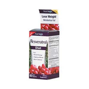 Natrol Resveratrol Diet 60 Fast Capsules from Natrol