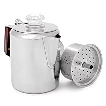 Gsi Sports Products 65012 Stainless Coffee Perk 12 Cup