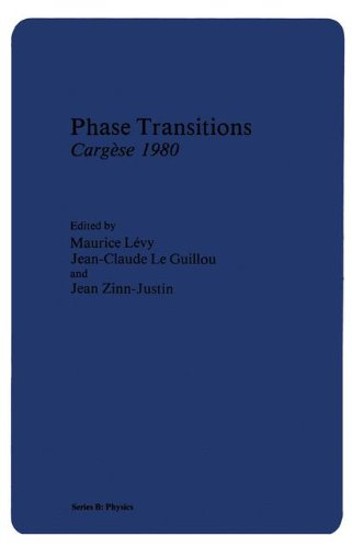Phase Transitions Cargèse 1980 (Nato Science Series B:)