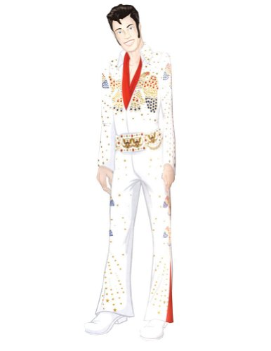 Halloween Costumes Item - Elvis Grand Heritage Xlg