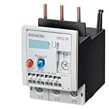 Siemens 3RU11 36-4DD0 Thermal Overload Relay, For Mounting Onto Contactor, Size S2, 18-25A Setting Range