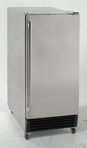 Avanti OBC32SS 15 Compact Outdoor Refrigerator 3.2 cu. ft. Capacity Reversible Door