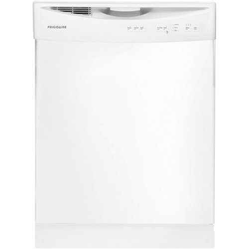 24″ Built-In Dishwasher in White