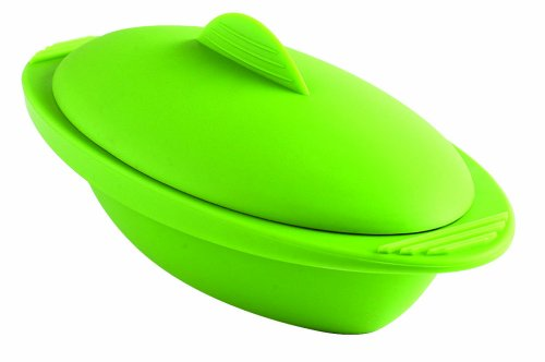 Orka Personal 20-Ounce Silicone Steamer, Green