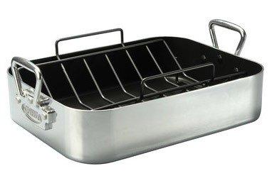 Bialetti Oneida Pro Series Aluminum Roaster - 10 Quart
