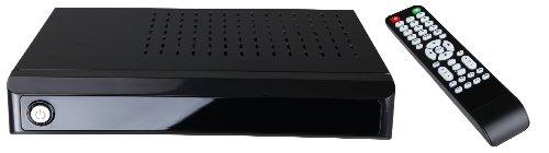 Naxa Electronics Ngt-20 Google Android Internet Tv Box With Keyboard Remote Control (Shinny Black)