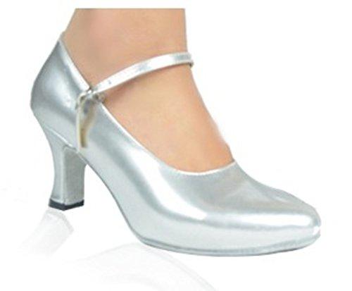 latino scarpe signora adulti/Baotou sequined scarpe da ballo/Ballroom Dance Shoes/scarpe da ballo GB-B Lunghezza piede=24.8CM(9.8Inch)