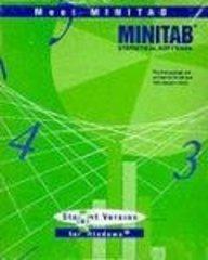 Minitab Student Version Release 12: Student Version