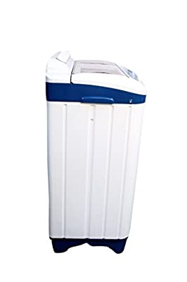 Mitashi MiSAWM75v10 Semi-automatic Top-loading Washing Machine (7.5 Kg, White and Blue) with 2 + 3 years extended...