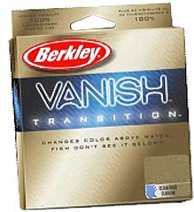 Berkley Vanish Transition Fluorocarbon 250 Yd Spool from Berkley