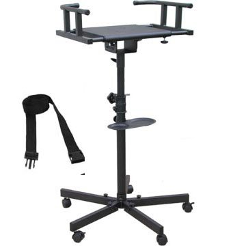 Cheap Karaoke Tv/monitor Stand Foldable Legs with Wheel (HAY000003)