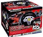 echange, troc Force Feedback Racing Wheel + F1 2002