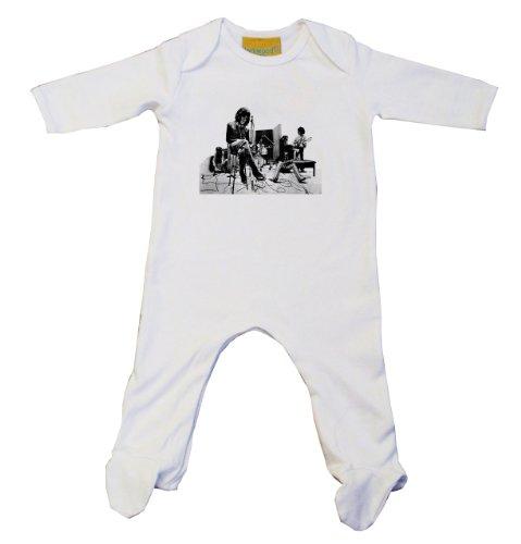 Rolling Stones-Baby Grow, colore: bianco Bianco bianco 3-6